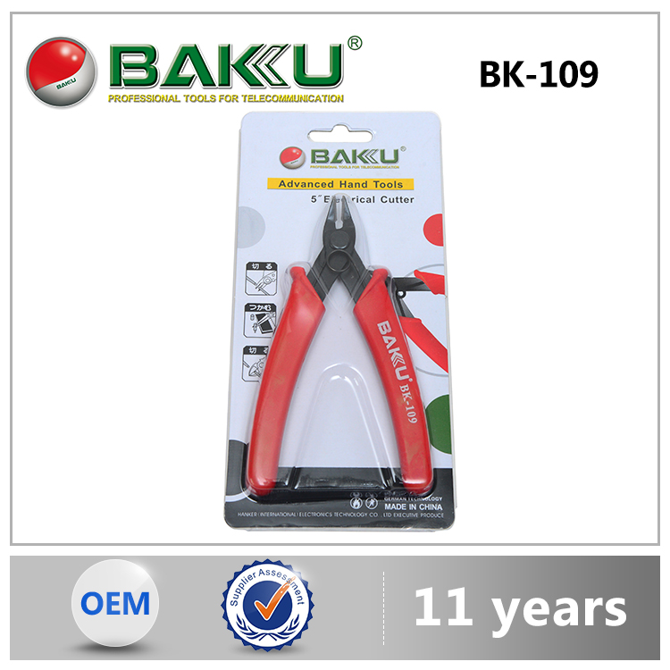 Baku 2015 Hot Selling High Grade Mobile Tools Veterinary Tattoo Pliers