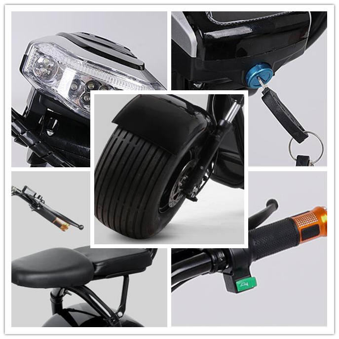 2018 promotion price elektro motorcycle scooter 1000w 1500w electric chopper bike with EEC
