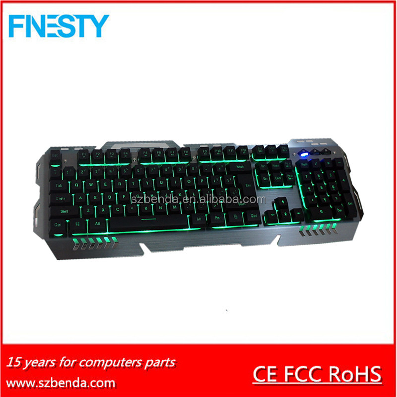 2017 High Quality Latest Computer LED Light Gamer Keyboard
