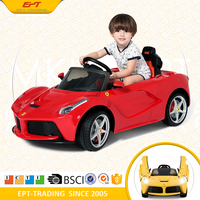 2017 New Trend ride on car 12V toy cars for kids to drive