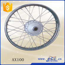 SCL-2014090062 Motorcycle Front Wheel Rims ,Rims Wheels Comp for AX100 Parts