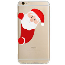 Guangzhou new arrival merry christmas santa claus cell phone case for iphone 5