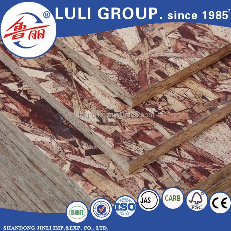Material de construcci n de osb tablero osb precio de placa del grupo china luli tablero - Precio tablero osb ...