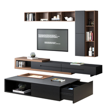 TV stand living room <strong>furniture</strong> with 6 drawer
