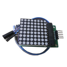 MAX7219 Dot led matrix module MCU control LED Display Module LED Display Controller