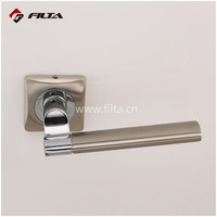 nickel plated door hardware modern zinc lever door handle