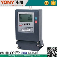 Promotional Microelectronic Technology 3 phase 4 wire kwh meter