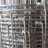 Long life hot dip galvanized woven wire cost build field fence
