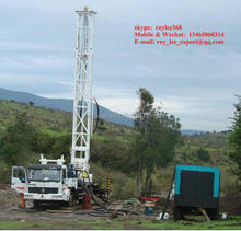 Overseas After-sales Service Provided truck mounted water well drilling