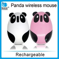 VMW-91 rechargeable cartoon design animal shape optical wireless computer mouse
