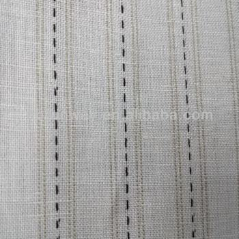 Pure linen yarn-dyed fabric