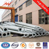 Hot galvanized led street light pole / road lamp pole lamp post