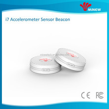 ibeacon accelerometer sensor motion detection BLE beacon