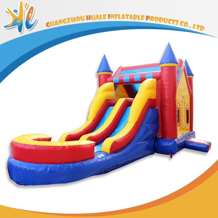 Most Hot Sale 2016 Inflatable Water Bouncer With Slide