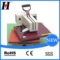 Hengxing QX-A3 Manual shake head heat press machine Top quality cheap table cloth screen printing heat transfer paper