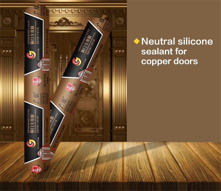 Excellent weatherproofing copper doors silicone sealant