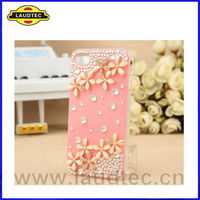 Luxury 3D Crystal Diamond Bling Case for iPhone 4 4S ,Back Rhinestone Case Cover--Laudtec