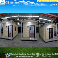 mobile living house container for sale/container homes/Waterproof Folding Container House For Office