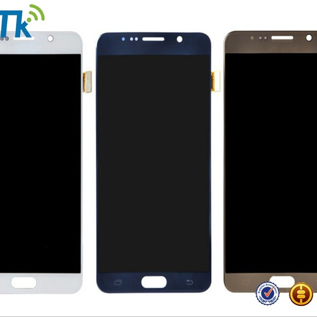 mobile phone replacement assembly display digitizer touch screen lcd for samsung galaxy note 5