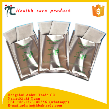 Non-woven detox foot patch for body health