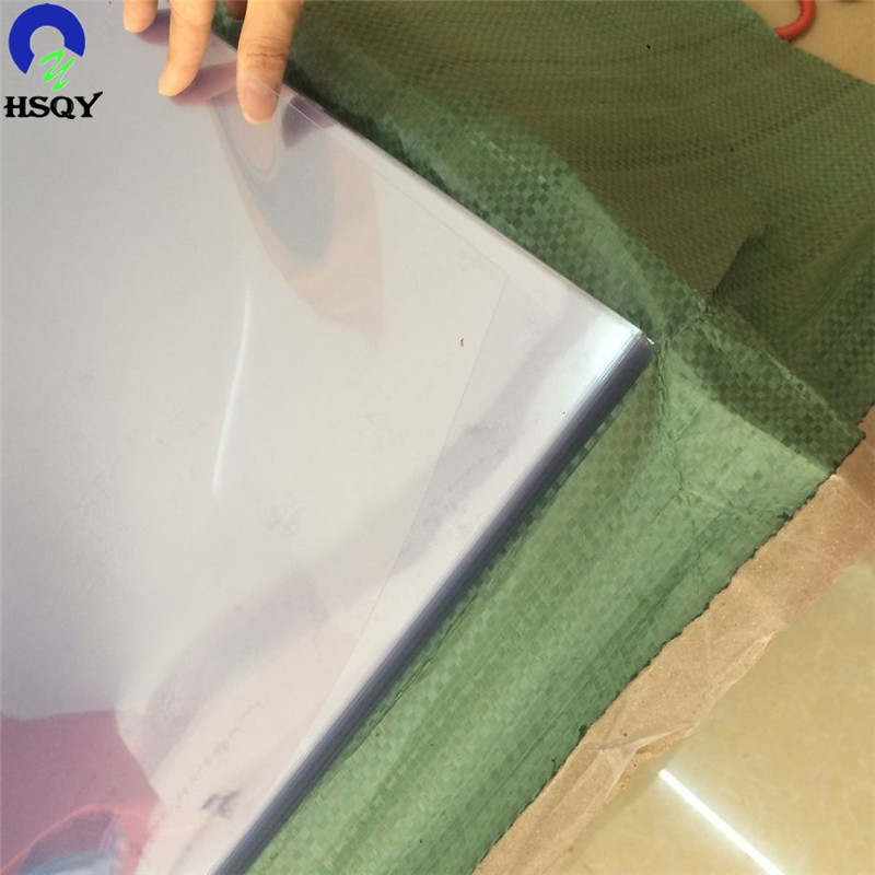 Laminated pvc sheet sheets black clear film