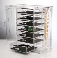Hot Sell Clear Acrylic Jewelry Organizer For Home
