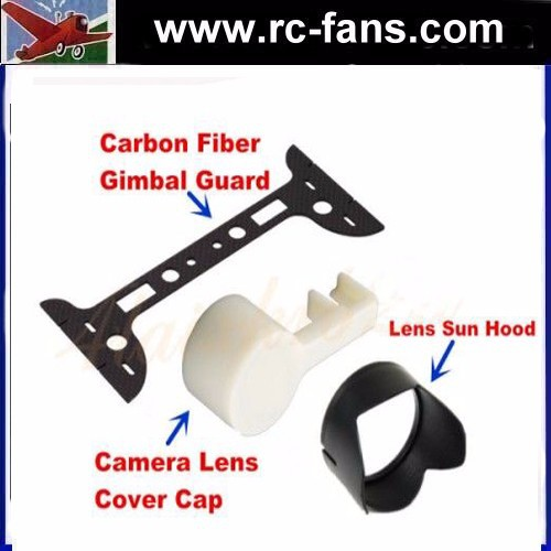 CF Gimbal Guard & Camera Lens Cover Cap & Camera Lens Sun Hood Sunsh ade Cap for DJI Phantom 3 Professional Advanced