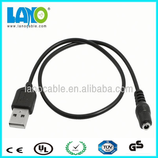 Wholesale 22 awg usb charger cable to dc 3.5 mm jack