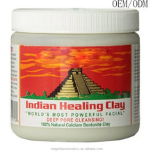OEM Indian Healing Clay Deep Pore Cleansing Cream Facial Mask
