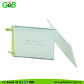 3.7v ultra thin li-polymer rechargeable battery 316175 1700mah for smart wearable devices
