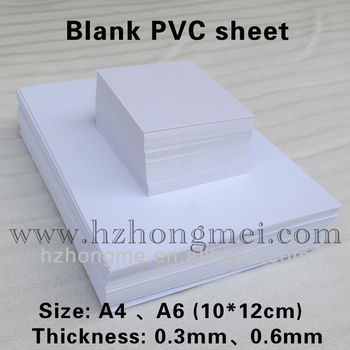 PVC core materials(Black sheets)/core PVC sheets /Blank PVC sheets