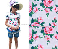 printed cotton fabric /fashion fabric 2014/big flower print fabric