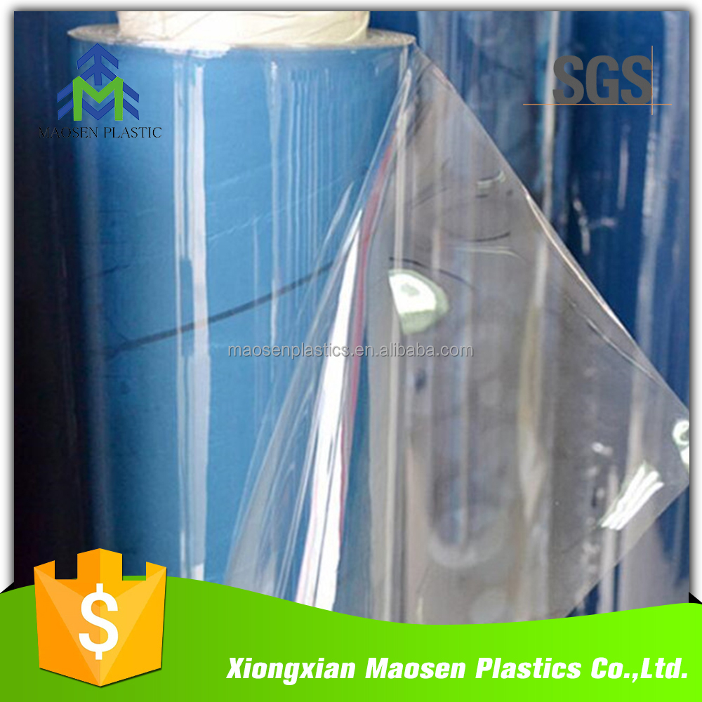 0.06MM 0.1MM 0.8MM 3MM Customized Size Clear Plastic Soft PVC Film Plastic PVC Sheet Roll