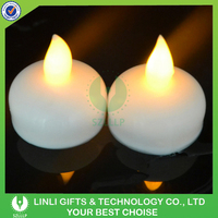 2016 Yellow Or White Or Color Changing Plastic Led Tealights Waterproof For Sale