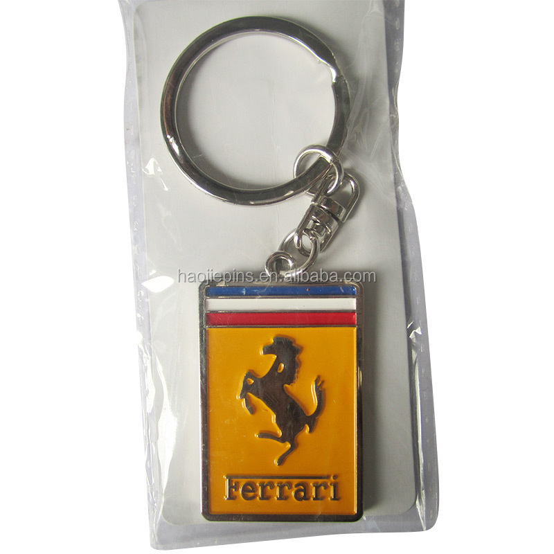 Quality Horse Gold Metal Key Chain
