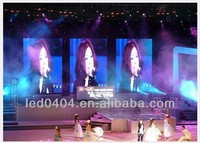 NEW TIMES LED display P30 led display curtain,ph30 korea led display double/single color with good price
