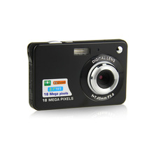 "Mini 2.7"" TFT LCD Digital Camera 18MP HD 720P 8x Zoom Camcorder Anti-Shake Micro Camera Video CMOS Sensor USplug Black/Red/White"