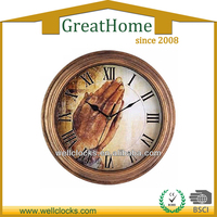 PS oil painting ajanta wall clock prices