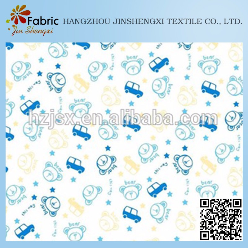 Factory manufacture various bedding design organic 100% cotton fabric