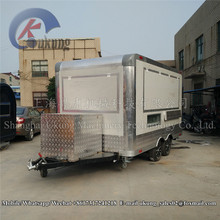 UKUNG Ce Approved New Arrival Outdoor Mobile Food Trailer/ Street Mobile Food Cart/ China Factory Mobile Food Truck For Sale