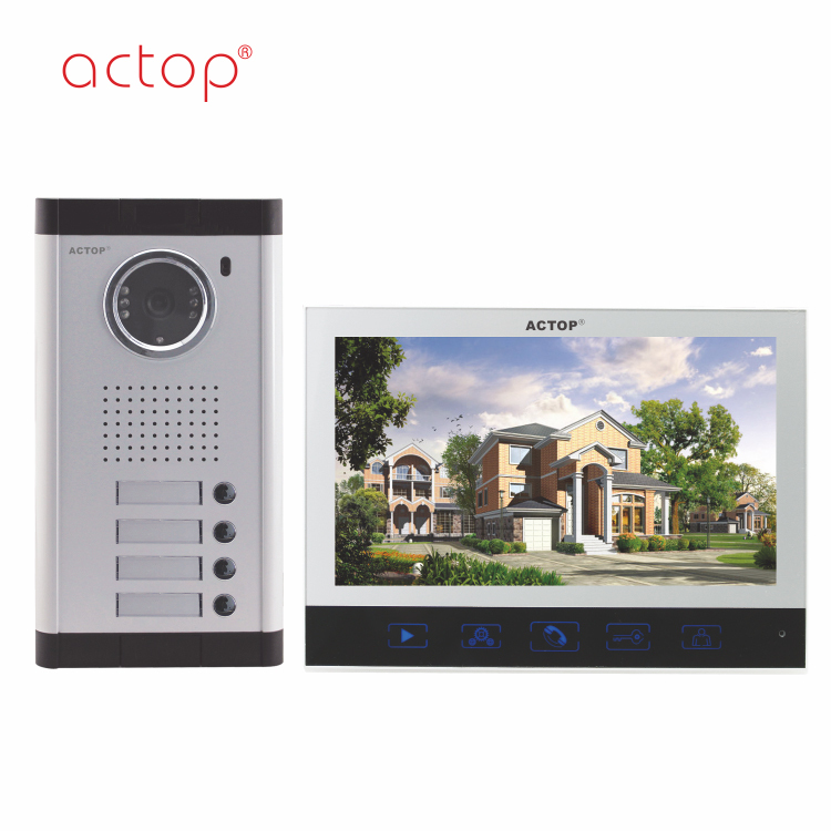 Shenzhen factory ACTOP wired competitive video door bell rain proof