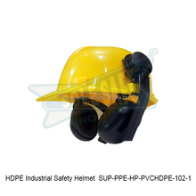HDPE Industrial Safety Helmet ( SUP-PPE-HP-PVCHDPE-102-1 )