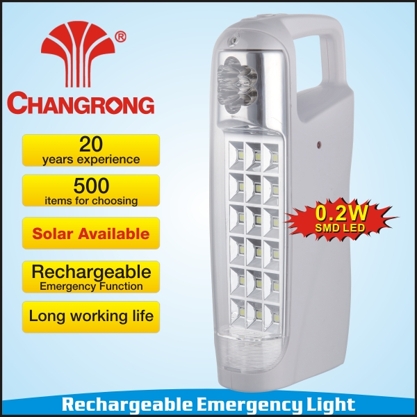 rechargeable battery led table emergency rechargeable lamp