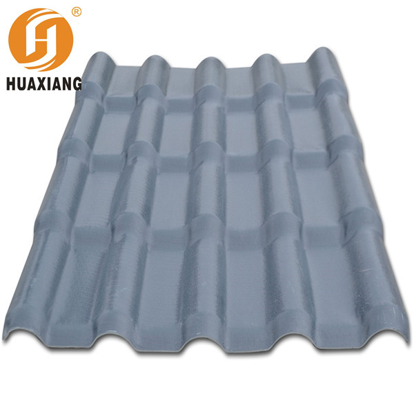 cheap colorful white blue purple asa coated pvc roof tile