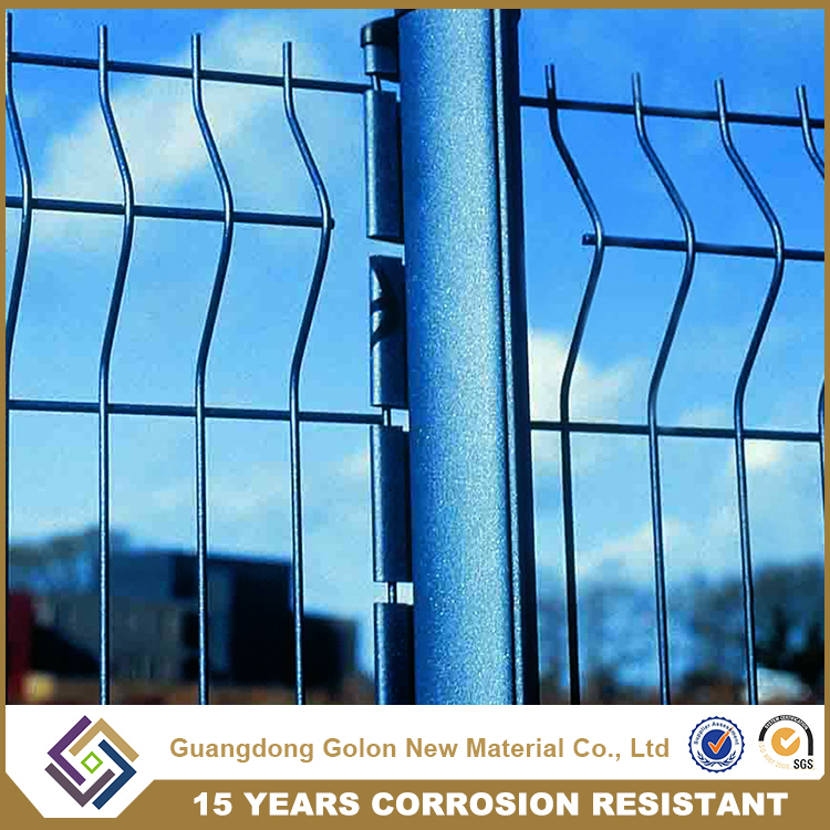 High quality airport security fence, anti-climb Perimeter Security Welded mesh fence