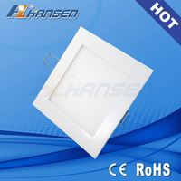 Aluminum frame 12W smd LED panel light IP40 4.5inch CE ROHS approved