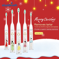 FDA approval waterproof personalized best travel sonic electric toothbrush for kids