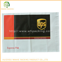 Customized logo printing recycled polythene black mailing bags