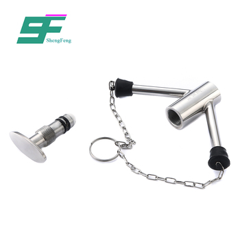 Newest design professional style stainless steel clamped end sterile sample valve