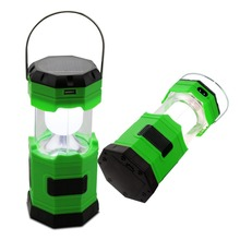Light Portable Solar Charger Lantern LED Camping Lantern Rechargeable with Charging Cable + USB Port Hand Crank Light Lamp